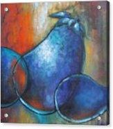 Blue Eggplants Acrylic Print