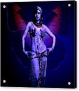 Blue Egypt Acrylic Print