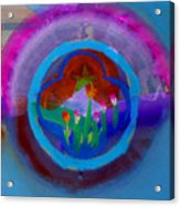 Blue Embrace Acrylic Print