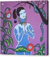 Blue Eve  No. 2 Acrylic Print