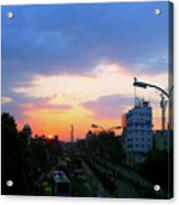 Blue Evening Sky Acrylic Print