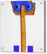 Blue Eyed Sailor Acrylic Print
