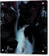 Blue Falls Acrylic Print