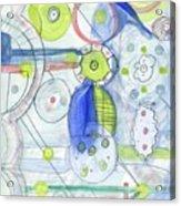 Blue February Acrylic Print