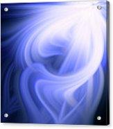 Blue Fiber 0610 Acrylic Print