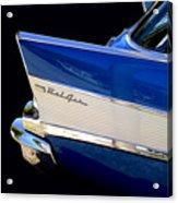 Blue Fins Acrylic Print