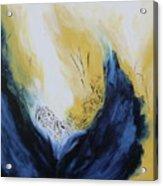 Blue Flame II Acrylic Print