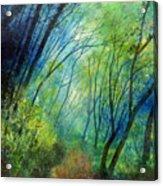 Blue Fog Acrylic Print