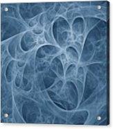 Blue Fugue Acrylic Print