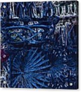 Blue Gate Barcelona Acrylic Print
