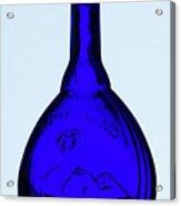 Blue Ginny Acrylic Print
