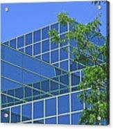 Blue Green Harmony Acrylic Print
