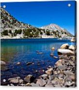 Blue Green Treasure Lake Acrylic Print