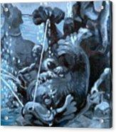 Blue Grotto Acrylic Print