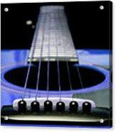 Blue Guitar 14 Acrylic Print