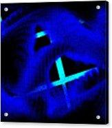 Blue Guitar 2 Acrylic Print