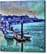 Blue Harbour Acrylic Print