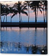 Blue Hawaiian Acrylic Print