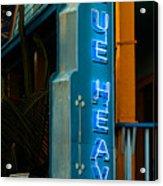 Blue Heaven Acrylic Print