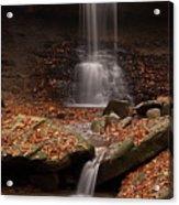 Blue Hen Falls And Cascade Acrylic Print