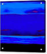 Blue Horizon Acrylic Print