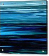 Blue Horrizon Acrylic Print