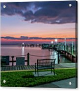 Blue Hour At Cape Shores Acrylic Print