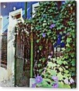 Blue House Acrylic Print