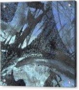 Blue Ice Pond 1  Acrylic Print