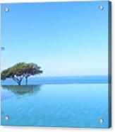Blue Infinity Acrylic Print