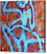 Blue Instinct Acrylic Print