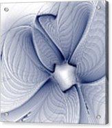 Blue Invert Acrylic Print