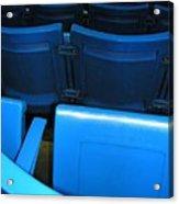 Blue Jay Seats Acrylic Print