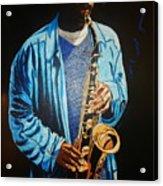 Blue Jazz Acrylic Print