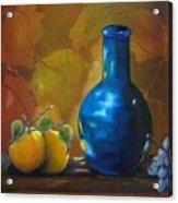 Blue Jug On The Shelf Acrylic Print