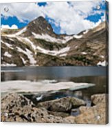 Blue Lake Colorado Acrylic Print