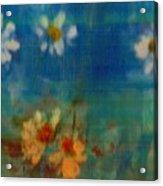 Blue Landscape In Oil Acrylic Print