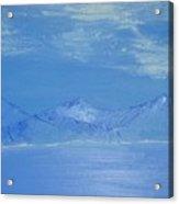 Blue Landscape Acrylic Print