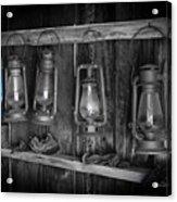 Blue Lantern - Bodie State Historic Park Acrylic Print