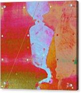 Blue Light Acrylic Print by Eileen Shahbazian