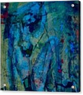 Blue Light Acrylic Print