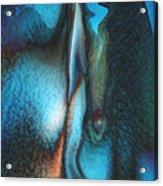 Blue Man Acrylic Print