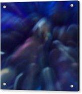 Blue Marbles Acrylic Print