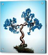 Blue Math  Tree Acrylic Print