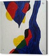 Blue Meanies Acrylic Print