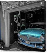 Blue Memories Acrylic Print