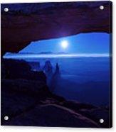 Blue Mesa Arch Acrylic Print