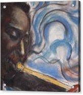Blue Miles Acrylic Print