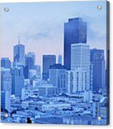Blue Mist, San Francisco Acrylic Print