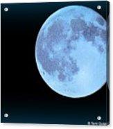 Blue Moonshine Acrylic Print